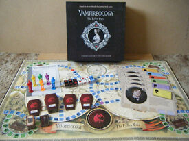 (VAMPIREOLOGY) board game. By Paul Lamond games 2010. Great condition, Complete.