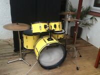 5 piece Premier Drum Kit for sale with Cym & stands.