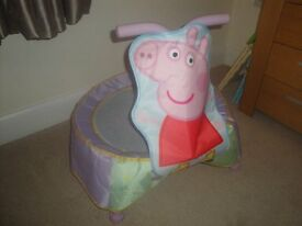 Peppa Pig Trampoline with sounds