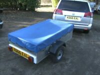 AS NEW.....ALLOY..... 5X3 APPROX TRAILER.. IDEAL CAR / M/C / TRIKE ETC.....