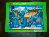 Heye Satellite Map Puzzle (2000-Piece)
