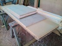 Chipboard flooring boards