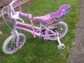 "Girls 12"" Disney Princess Bike"