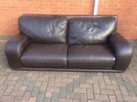 designer leather sofa delivery available