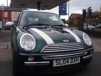 MINI COOPER 1.6 PETROL MOT--SERVICE HISTORY--SMOOTH ENGINE
