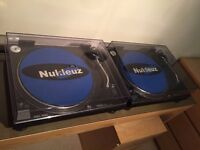 2 x Technics SL1210Mk2 SL1210 Mk2 Professional DJ Decks Turntables