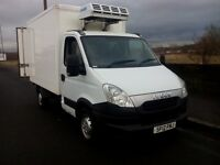 iveco daily 35s13mwb refridgerated box van, 2012 12 plate 1 owner