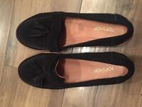 Top Shop Black suede shoes