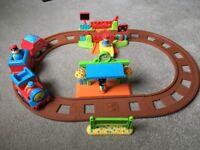 Happyland Village Train Set