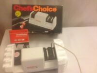 chef's choice electornic knife sharpener