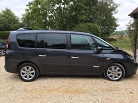 Renault Grand Espace, 2 litre diesel, panoramic sunroof