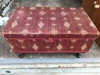 Vintage sewing box with FREE DELIVERY PLYMOUTH AREA