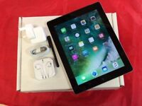 Apple iPad 4 128GB WiFi + Cellular, Black, +WARRANTY, NO OFFERS