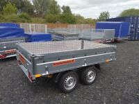 TRAILER 8.2 ft x 5 ft AL-KO TWIN AXLE