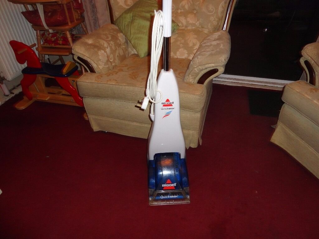 bissell quickwash carpet cleanerin Basildon, EssexGumtree - for sale bissell quickwash carpet cleaner in working order can see it working
