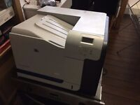 HP Colour Laserjet CP3525N - USB/Network Printer - Working - Must Go Today!