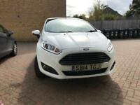 2014 Ford Fiesta zetec 1.25 3 door white