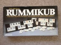 Backgammon & Rummikub Board Games (bundle)