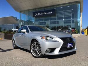 2014 Lexus IS 250 1owner Lthr AWD Btooth Sroof BUcam