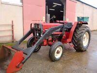International 484 Tractor