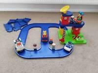 ELC Happyland rescue centre. Fire, police, ambulance.