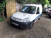 Citroen Berlingo 1.9 Diesel Van 2006 Yard Clearance Drives Away £250