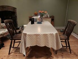 Antique Farmhouse Dining Chairs x2