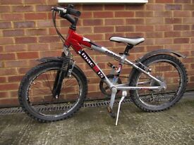 """CHILDREN'S BOYS / GIRLS KALKHOFF MOUNTAIN BIKE 12"""" FRAME 6 GEARS WITH STAND"""