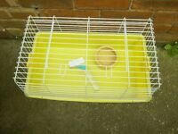 YELLOW BASED INDOOR CAGE