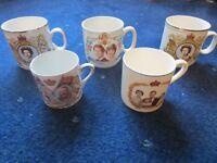Royal Commemorative Cups