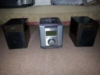 stereo whole set with speakers