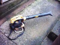 petrol alco leaf blower