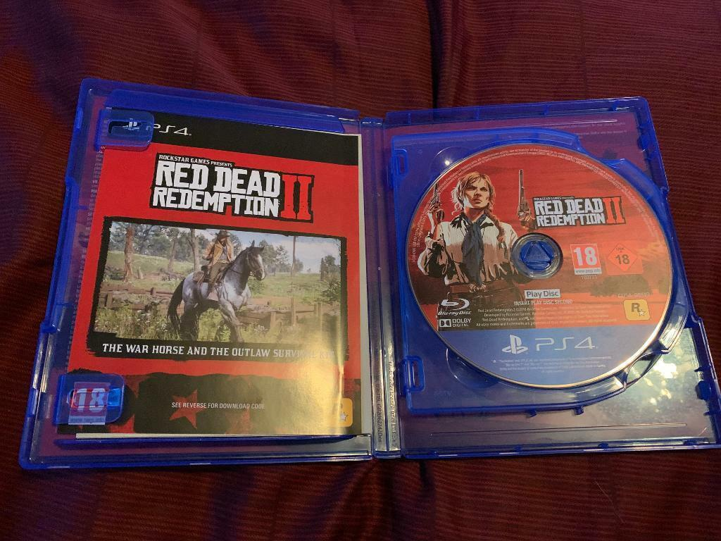 download red dead redemption 2 ps4 disc