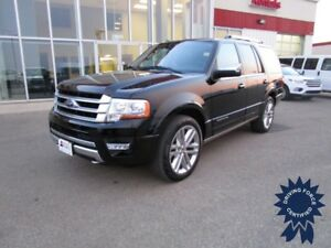 2017 Ford Expedition Platinum 4WD 7 Pass, DVD Player w/15,482 Km