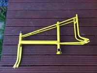 Raleigh chopper MK2 frame in yellow recent repaint