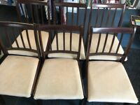 6 x Dining Chairs - ONLY £15