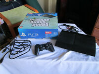PlayStation 3 slim 500GB with 8 games