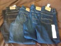 New! 4 pair of boys jeans, Husky size 8