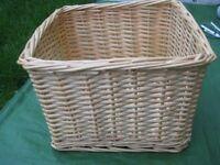 Square Shaped Wickerwork Basket