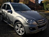 mercedes ml 350 cdi 2010 sport call 07704603942