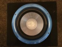 """10"""" SPLX Subwoofer and JBL GTO 600W Amplifier"""