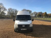 FORD TRANSIT LWB HIGH TOP STEALTH CONVERSION/CAMPER VAN (UNFINISHED/PROJECT)