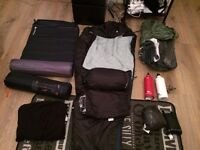 Camping pack - used only 10 days - like new !