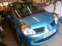 Renault MODUS Privilege 16v,5 dr hatchback,Rare auto,2 previous owners,2 keys,clean tidy car,41k