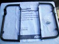 KTM 250/400/450/525 exc models Radiator Guards.Fits 2004-2007 RFS engined models.