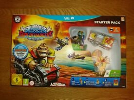 Nintendo Wii U Skylanders Superchargers Starter Set 100% Complete With Box As New Condition