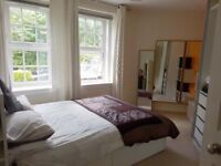 Spacious 2 Bedroom Flat in Quiet Area - available for short lets