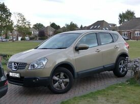 Nissan Qashqai - ACCENTA , Tow Bar. cruise control, alloys, very clean throughout. mot until April17