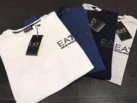 Emporio Armani EA7 Short Sleeve T shirts Sizes S M L XL XXL 4 Colours available