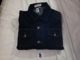 BNWT American Apparel Denim Jacket, Size M. Made in USA